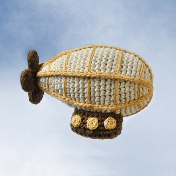 Crocheted Airship Pattern PDF