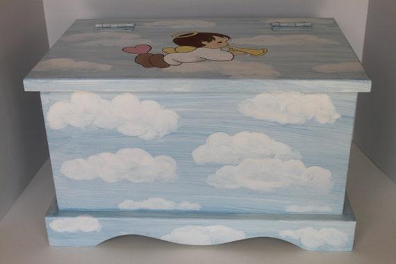 Baby Bereavement Angel Cloud Keepsake Chest Box