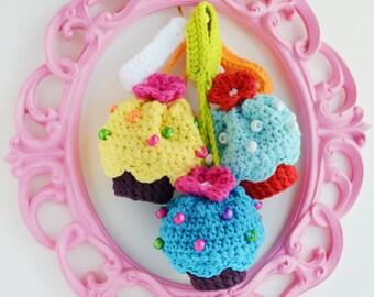 ONE   mini  cupcake  purse