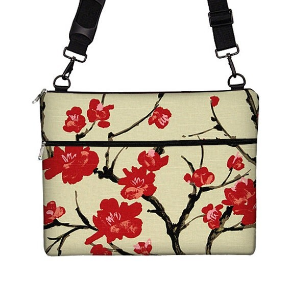 13 inch laptop bag floral laptop case by janinekingdesigns. Black Bedroom Furniture Sets. Home Design Ideas
