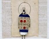 Original Mixed Media Art doll - Tic-Tac-Roe