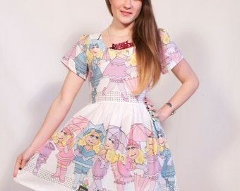 Miss Piggy Party Dress MADE TO ORDER