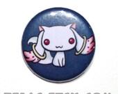 Chibi Anime Button: Madoka Magika - Kyubey