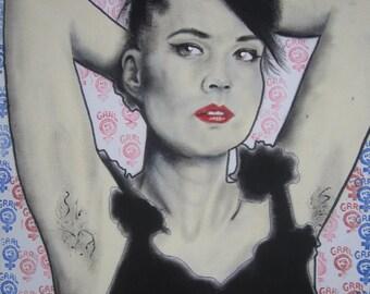 Kathleen Hanna ART PRINT