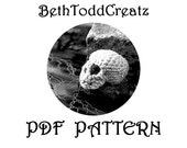 INSTANT Download Skull-y PDF Amigurumi Pattern Crochet by BethToddCreatz Patterns on Etsy