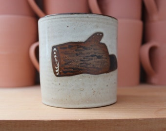 Coffee mug with Log.