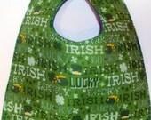Luck of the Irish Baby Bib