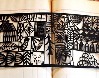 happytown limited edition lasercut print 22/25