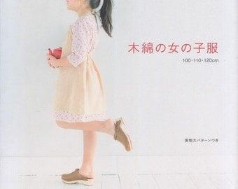 Girls Cotton Linen Clothes Japanese Craft Book