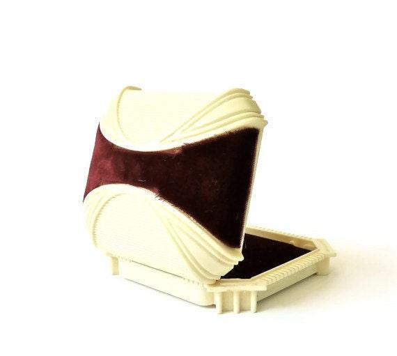 Art Deco Celluloid Jewelry Presentation Box