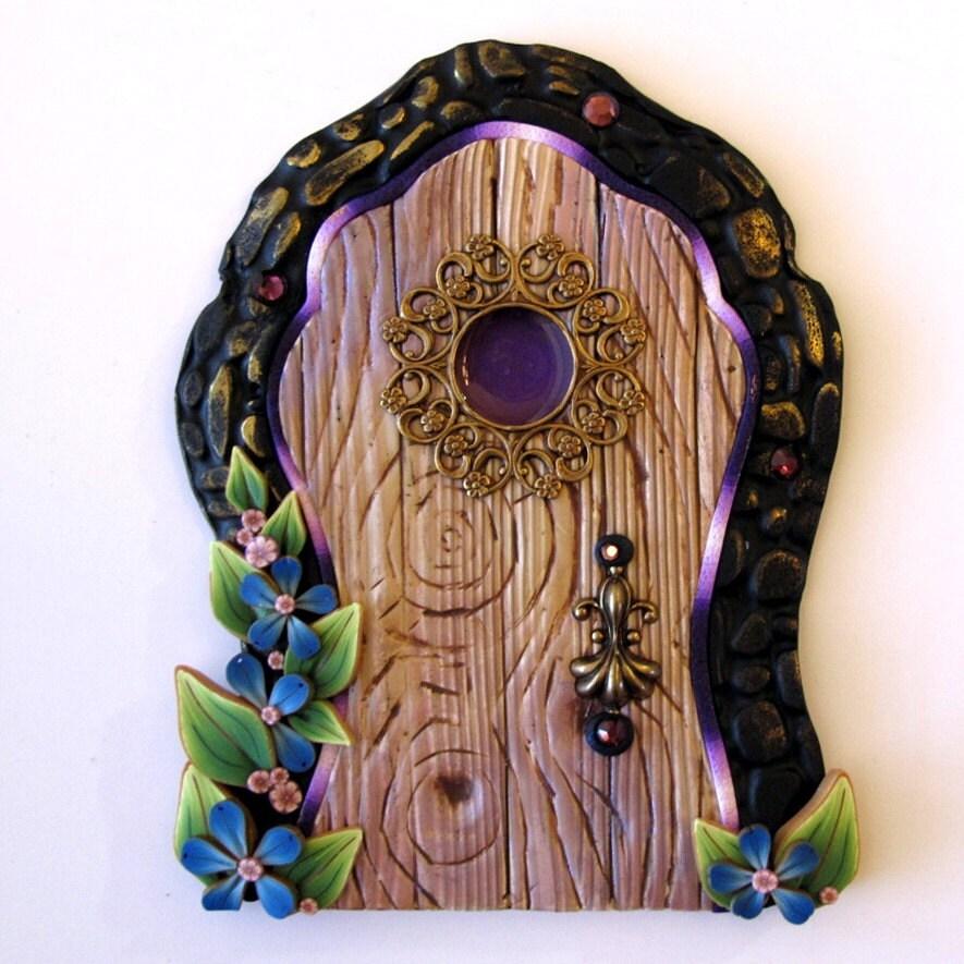 Magical tooth fairy door for Fairy door with fairy