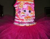 SALE..Lalaloopsy Tank Top Tutu Dress..sizes 4/5.