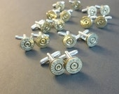 45 caliber automatic Winchester bullet cuff links | gift for him | groomsmen gift | cufflinks