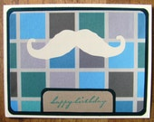 one heck of a mustache- birthday card