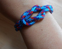 Nautical Sailor's Knot Bracelet - Love Knot - KNOTICAL KNOTION
