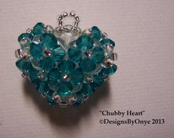 Chubby Heart Pendant