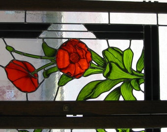 Custom Stained Glass Panel.