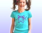 Girl ninja kitty Tee