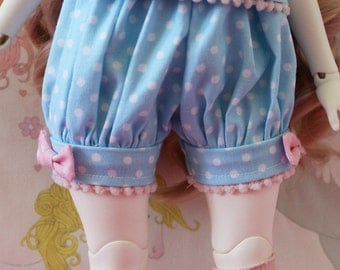 Pick Your Size Fairy Kei Bloomers Blue Cute Lolita BJD Doll MSD Art Body YoSD Kaye Wiggs SD Super Dollfie Mikhaila Minifee