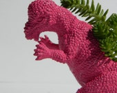 Toy Dinosaur Planter Office Decor Theme Dorm Decor Get Well, Teacher, Boss', Gift Succulent Planter Pachycephalosaurus