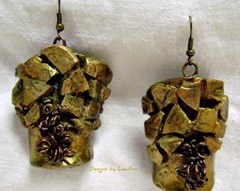 Gourd Nugget Earrings.....