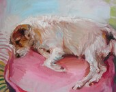 """8 x 10"""" Custom Dog Cat Pet Animal Portrait, oil painting made to order"""