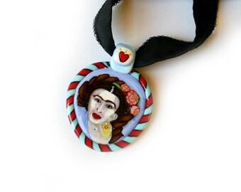 Frida Kahlo Pendant