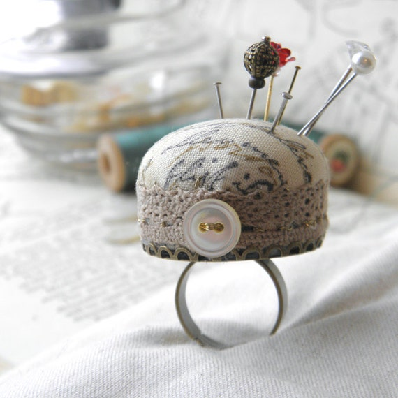 Love Letter Pincushion Ring