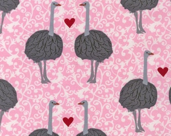 Laurie Wishburn, Olive the Ostrich in Pink, LAST 48 Inches