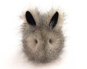 Stuffed Bunny Stuffed Animal Cute Plush Toy Bunny Kawaii Plushie Jasper the Bunny Snuggly Cuddly Faux Fur Toy Rabbit Small 4x5 Inches