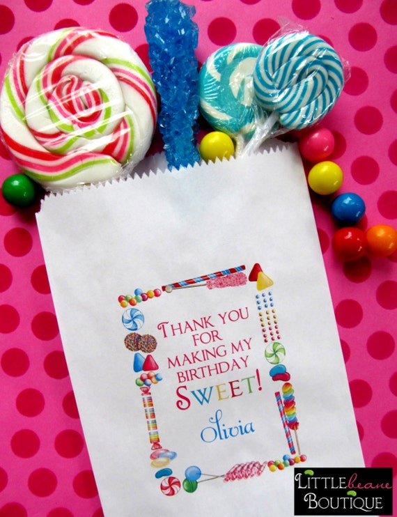 personalized candy bags candy sprinkle candy favor bags candy rh catchmyparty com candy buffet bags candy bags for candy table