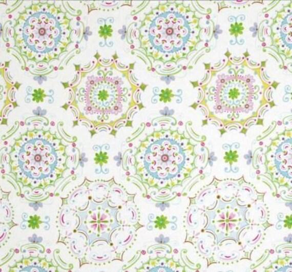 Tea garden dream right floral dena designs sateen home for Dena designs tea garden fabric
