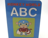 Monkey World ABC Board Book