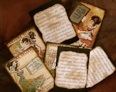 Gypsy Fortune Teller Cards, Mystery Message, Circa 1905, -SET OF 12