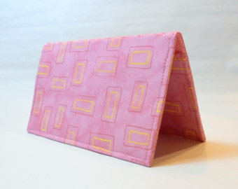 Checkbook Cover - In the Pink