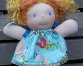 Woodle 12inch Waldorf doll with loads of hair