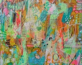 Jennifer Mercede abstract print 'the places I've called home'