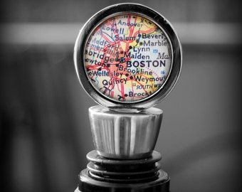 Boston Map Wine Stopper - Great Housewarming Gift