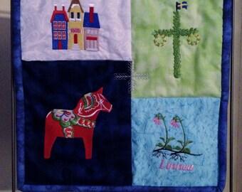 Scandinavian Mini Quilt SALE