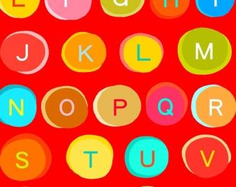 Alphabet Rainbow Print