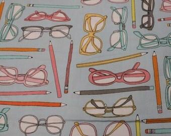 Type by Julia Rothman for Windham Fabrics - 1 3/8 Yard -LAST PIECE-