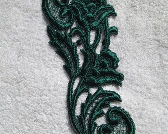 Dark Green Applique