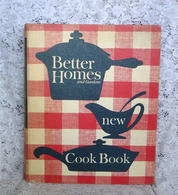 Vintage 1960 39 s better homes and garden cookbook binder by - Vintage better homes and gardens cookbook ...