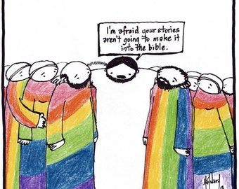jesus and the LGBT community PRINT