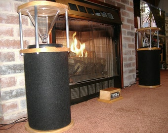 Short Glass Top speaker system
