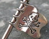 Tie Tack - Pirate Flag