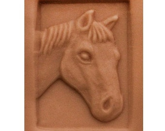Horse Head Soap Stamp