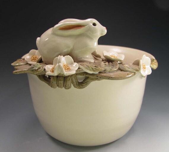 Pottery bowl, Belle