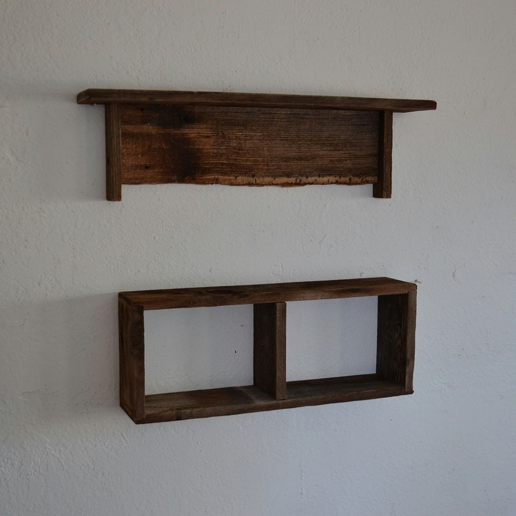 reclaimed wood wall shelves eco friendly barnwood. Black Bedroom Furniture Sets. Home Design Ideas