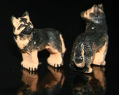 Ceramic German Shepard Bead